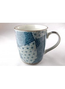 copy of Mug Patchwork bleu