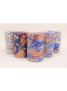 Yuzen 100g blue Tea Tin