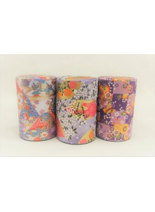 Yuzen 100g purple Tea Tin