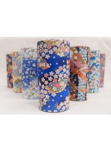 Yuzen 200g blue Tea Tin
