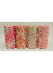 Yuzen 200g pink Tea Tin