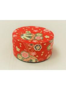 Yuzen 40g red Tea Tin
