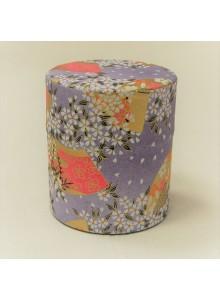 Yuzen 150g purple Tea Tin