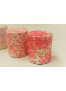 Yuzen 150g pink Tea Tin