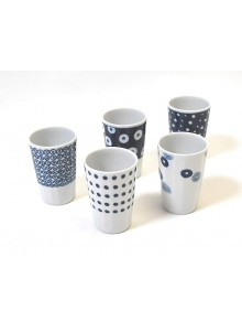 Tasses Aimaru, Set de 5 tasses