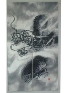 Noren Dragon Sumi-e